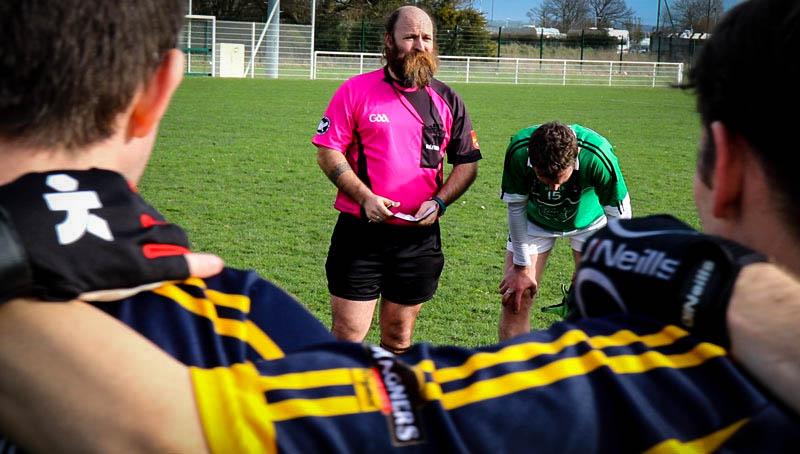 Mael a arbitré le match Saint-Brieuc - Plédran